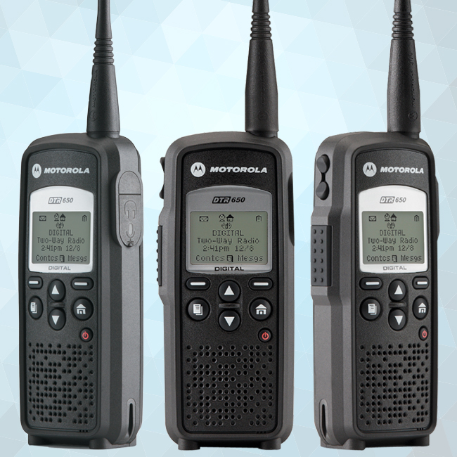 DTR650 Digital On-Site Portable Two-Way Radio